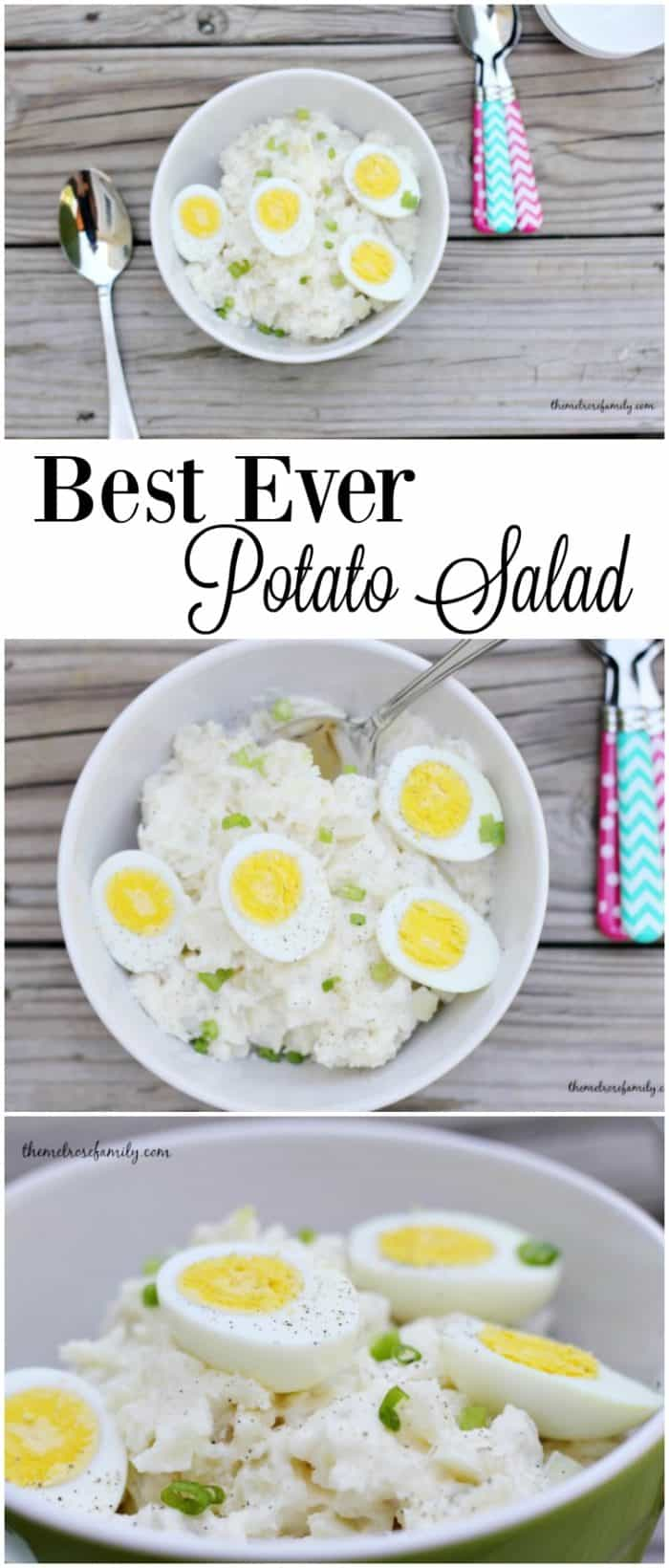 In need of the perfect side dish for a barbecue or get-together Our Best Ever Potato Salad is an amazingly tasty salad that compliments any barbecue.