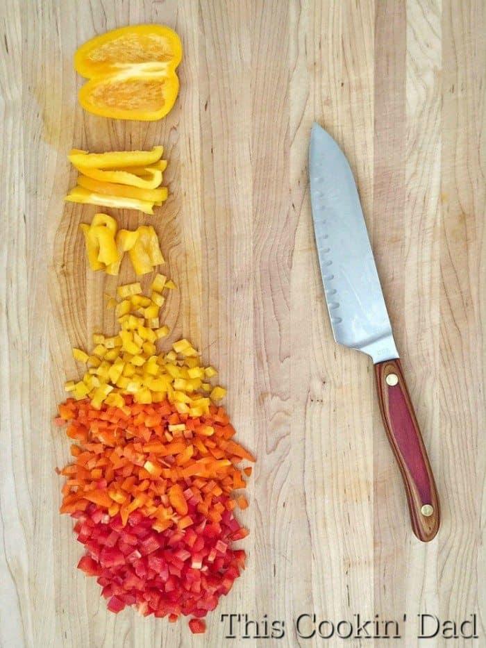 Peppers for Shakshuka
