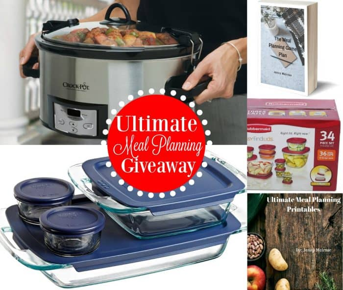 Ultimate Meal Planning Giveaway