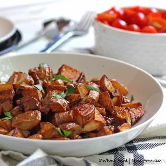 Breakfast Potatoes as a side