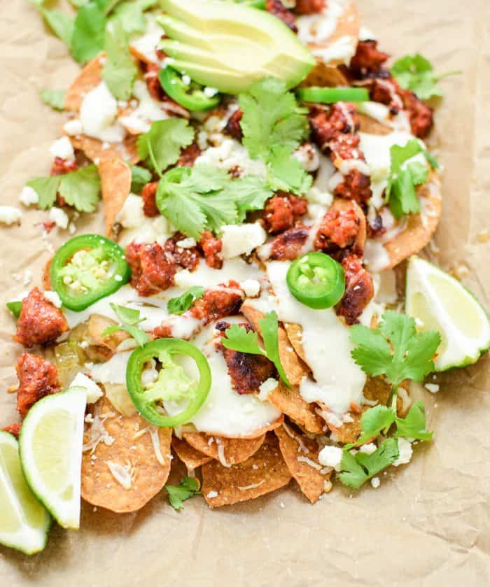 Grilled Sweet Potato Nachos