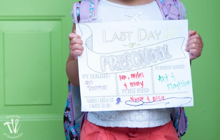 Last Day of School Coloring Printables