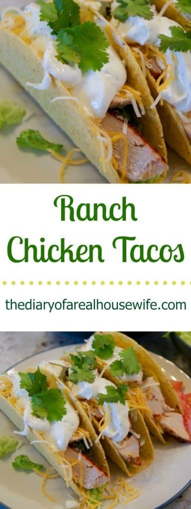 In a pinch and not sure what to make for dinner? These Ranch Chicken Tacos are a family favorite and they come together in thirty minutes.
