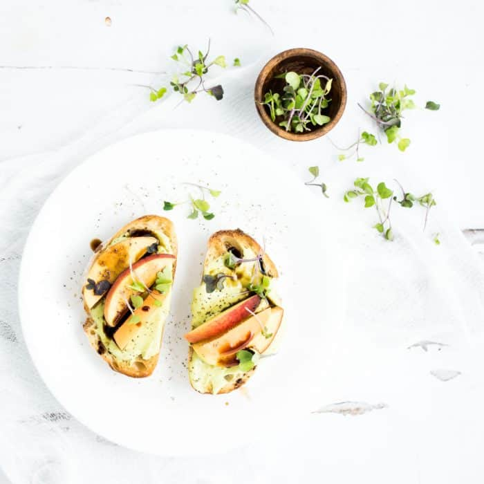Whipped Goat Cheese and Avocado Toast