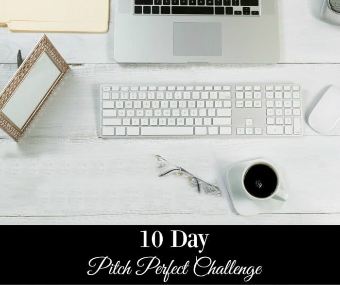 10 Day Pitch Perfect Challenge
