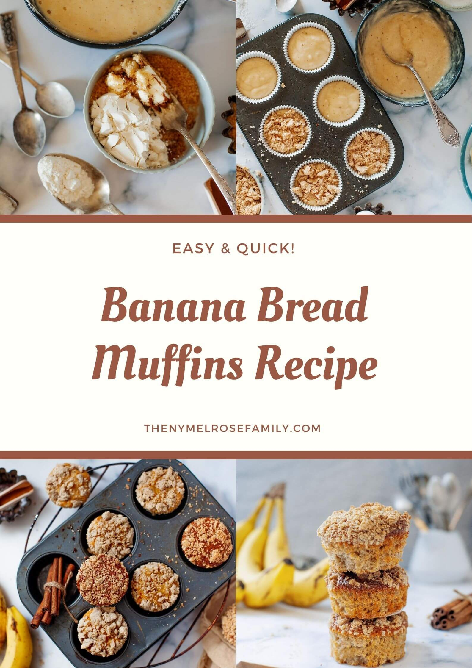 Best Banana Bread Muffins Recipe We Ve Ever Made
