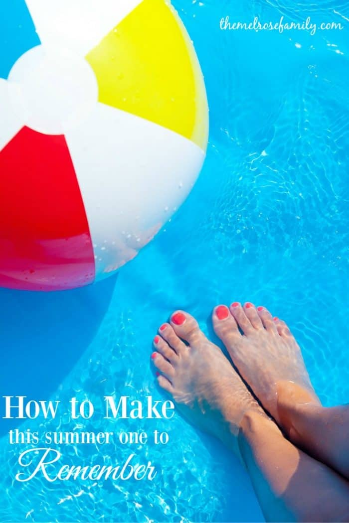Do you feel like summer is slipping away even though it only just started? We want to share how to make this summer one to remember without breaking the bank.