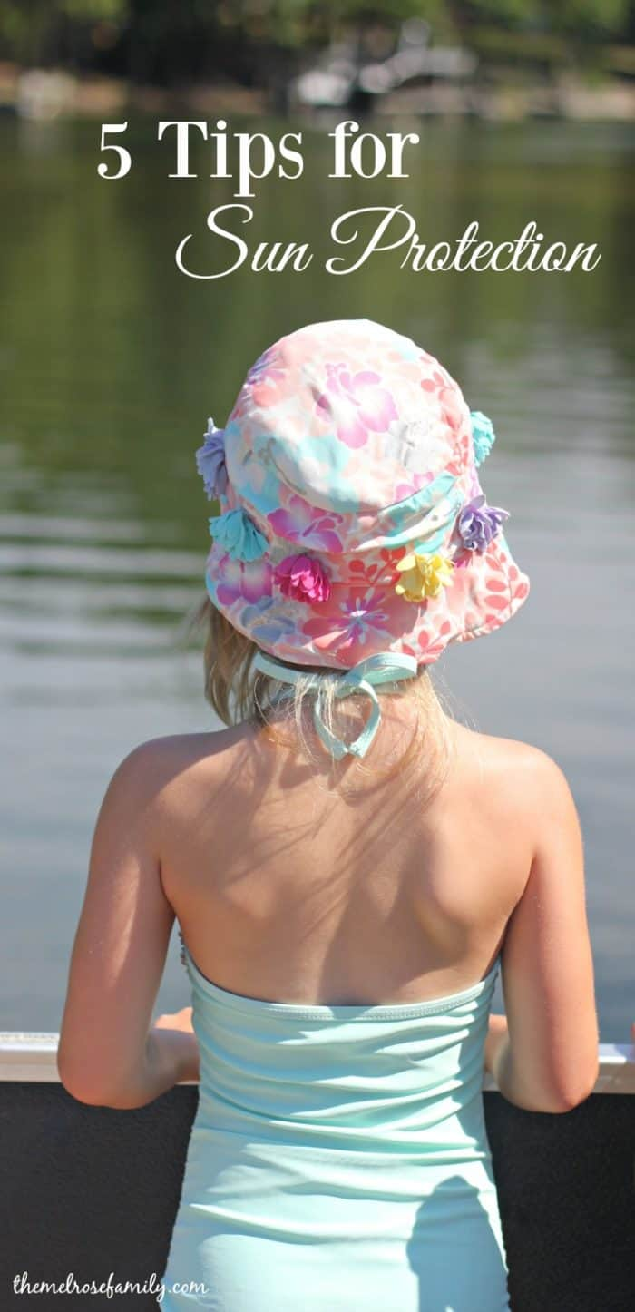 Planning on enjoying the sun These 5 Tips for Sun Protection will have you covered for the summer.
