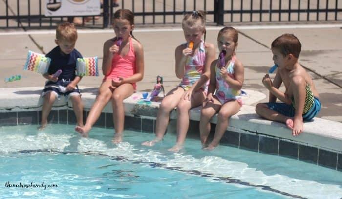 Summer fun popsicles
