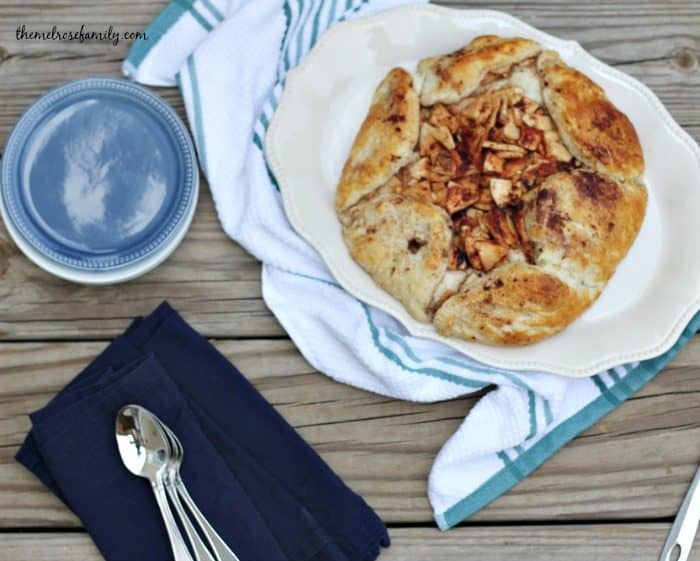 Apple Pie Crostata with Grands Biscuits