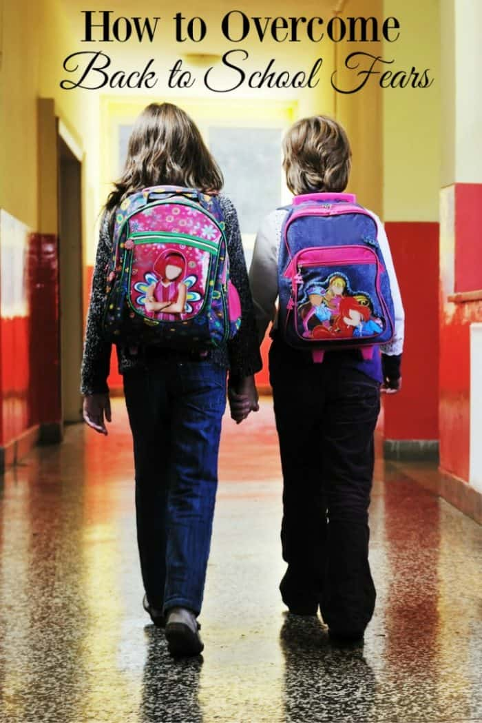 Do you or your child have back to school fears We know the feeling all too well, which is why we're sharing how to overcome those back to school fears.