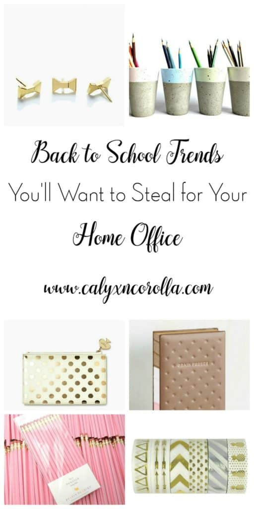 It's official. Back to School time is in full swing. With this time of year comes all of the hottest back to school trends.