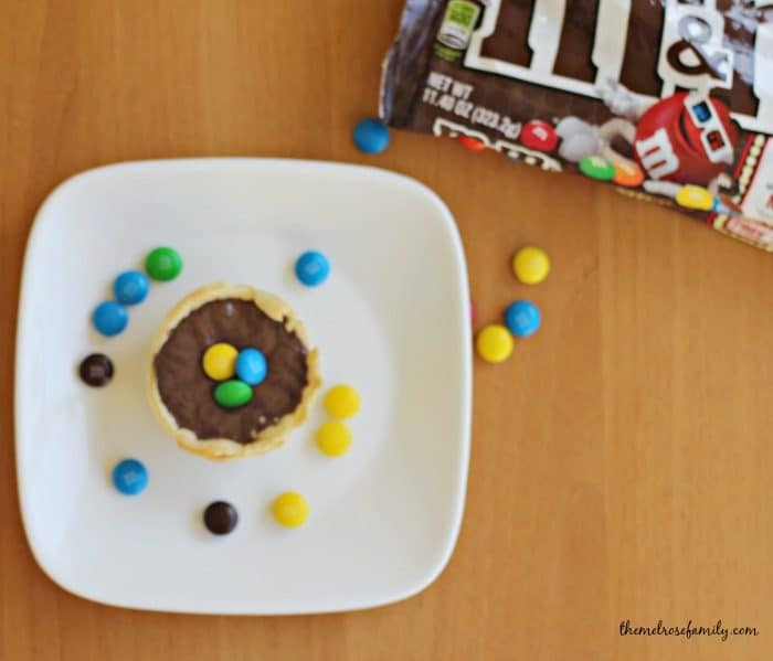 Mini M&M Chocolate Fudge Pies fb