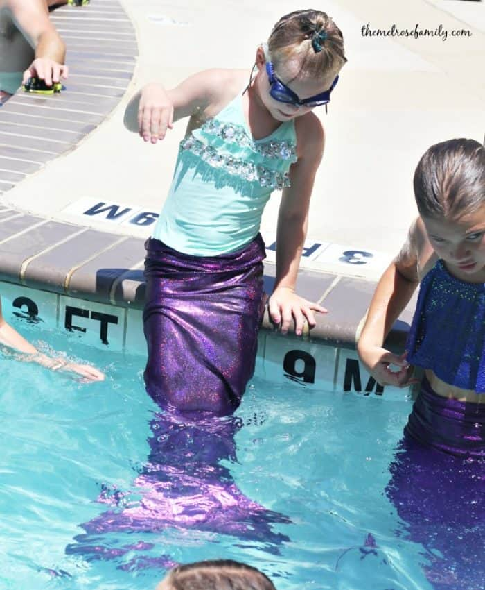 Myrtle Beach Vacation mermaid swimming sheraton