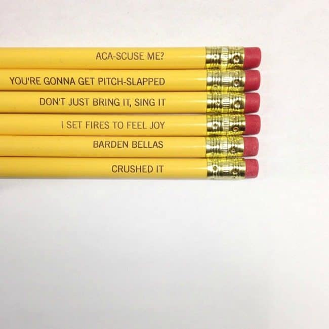 Personlized pencils