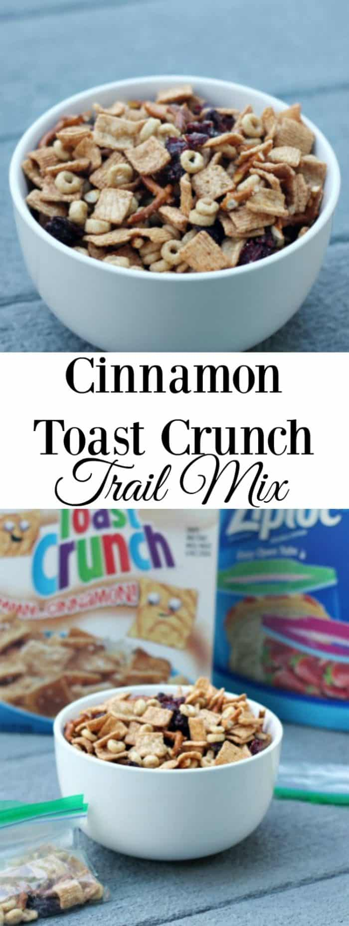 Ready for a different kind of trail mix? This Cinnamon Toast Crunch Trail Mix is the perfect snack idea.