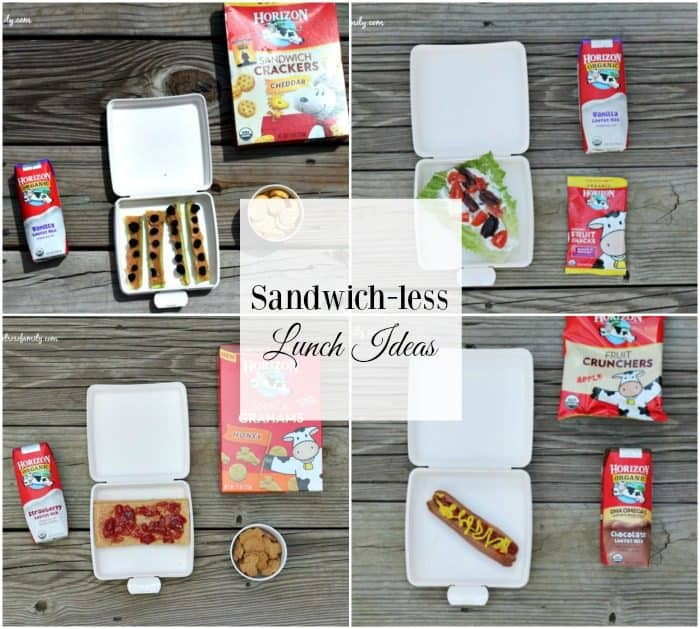 Sandwich-less Lunch Ideas FB