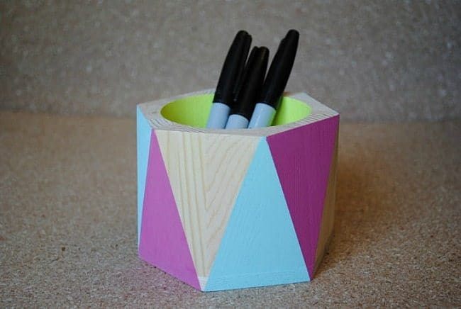 funky pencil holder