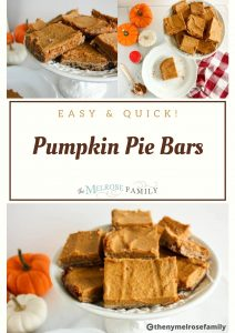 Are you looking to enjoy pumpkin this Fall season? These Pumpkin Pie Bars are gluten free and healthy.