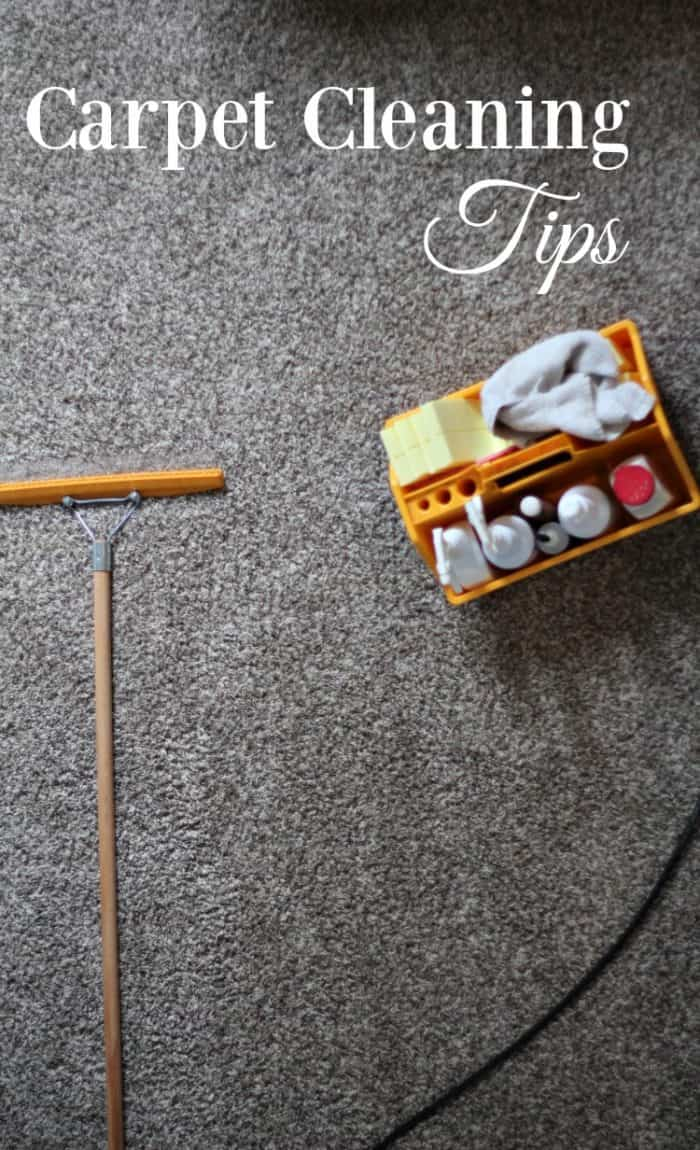 Does your carpet need a good cleaning? These tried and true carpet cleaning tips will have you singing their praises. #ad