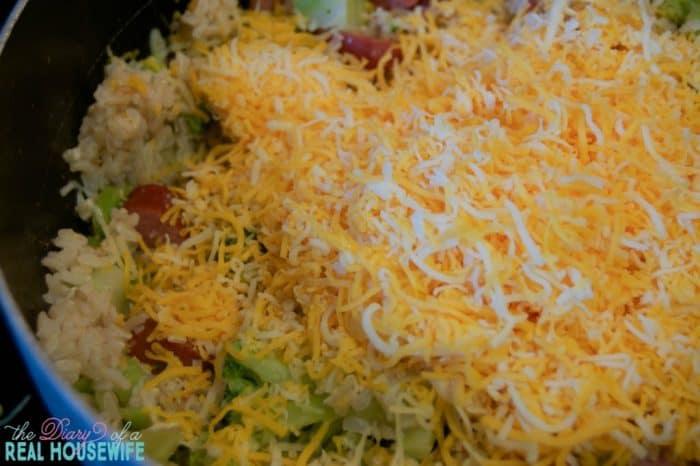 cheesy-rice-kielbasa-broccoli
