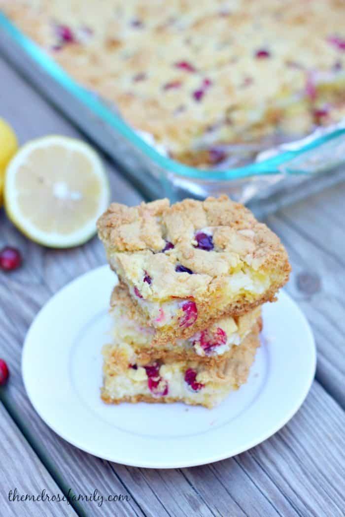 cranberry-lemon-christmas-gooey-bars