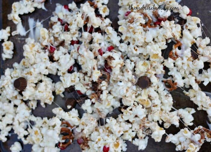 melted-rudolph-popcorn-mixed