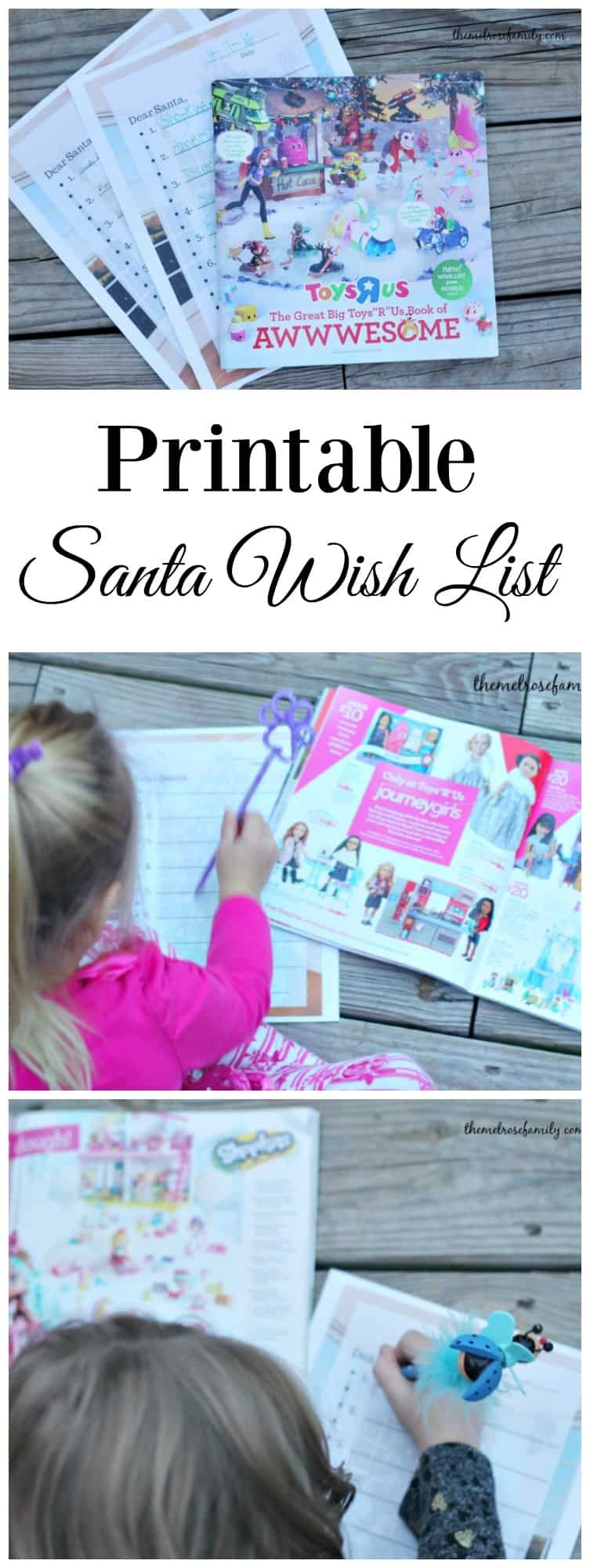 Ready for Christmas? Grab your @toysrus Big Book & print out our Printable Santa Wish List. #ad