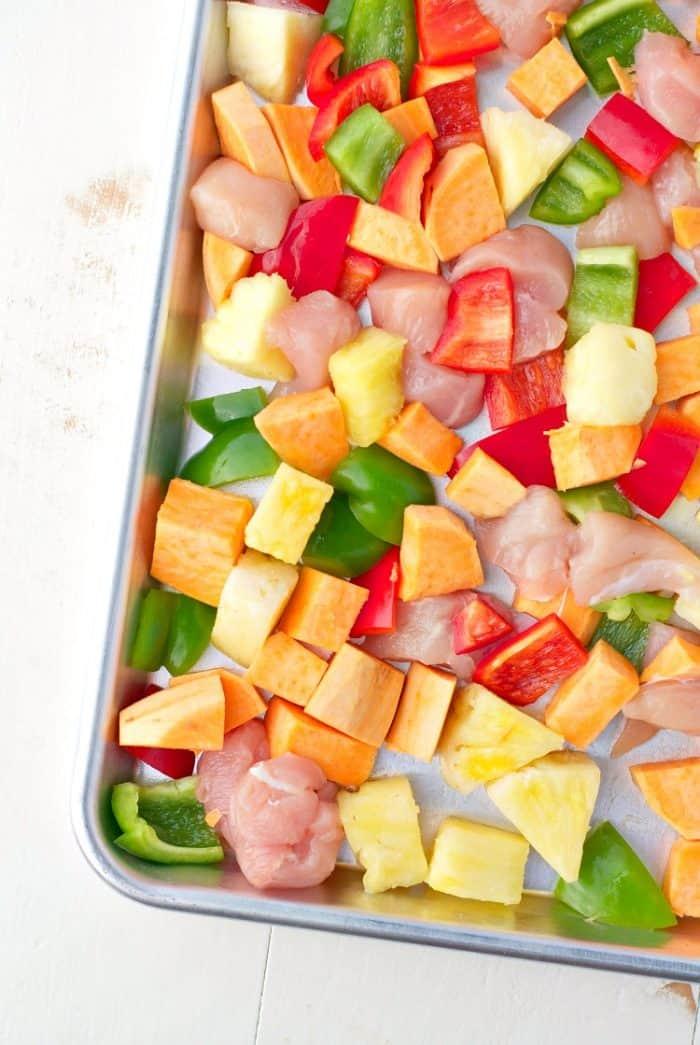 sheet-pan-supper-hawaiian-chicken-3