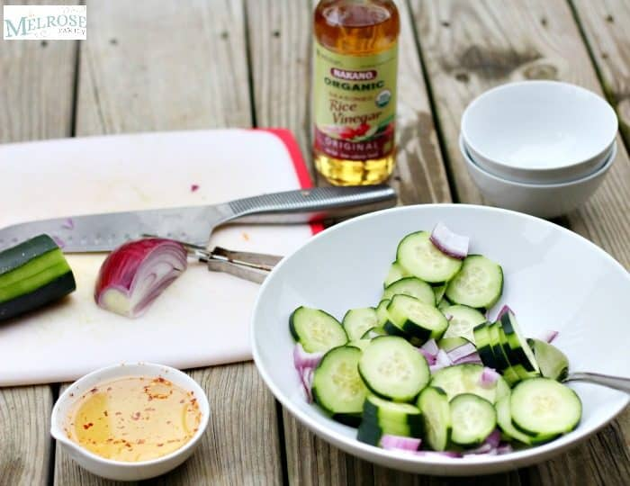 Thai Cucumber Salad with Nakano