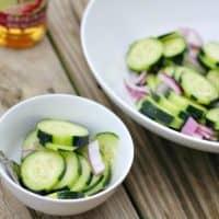 Thai Cucumber Salad with Seasoned Rice Vinegars