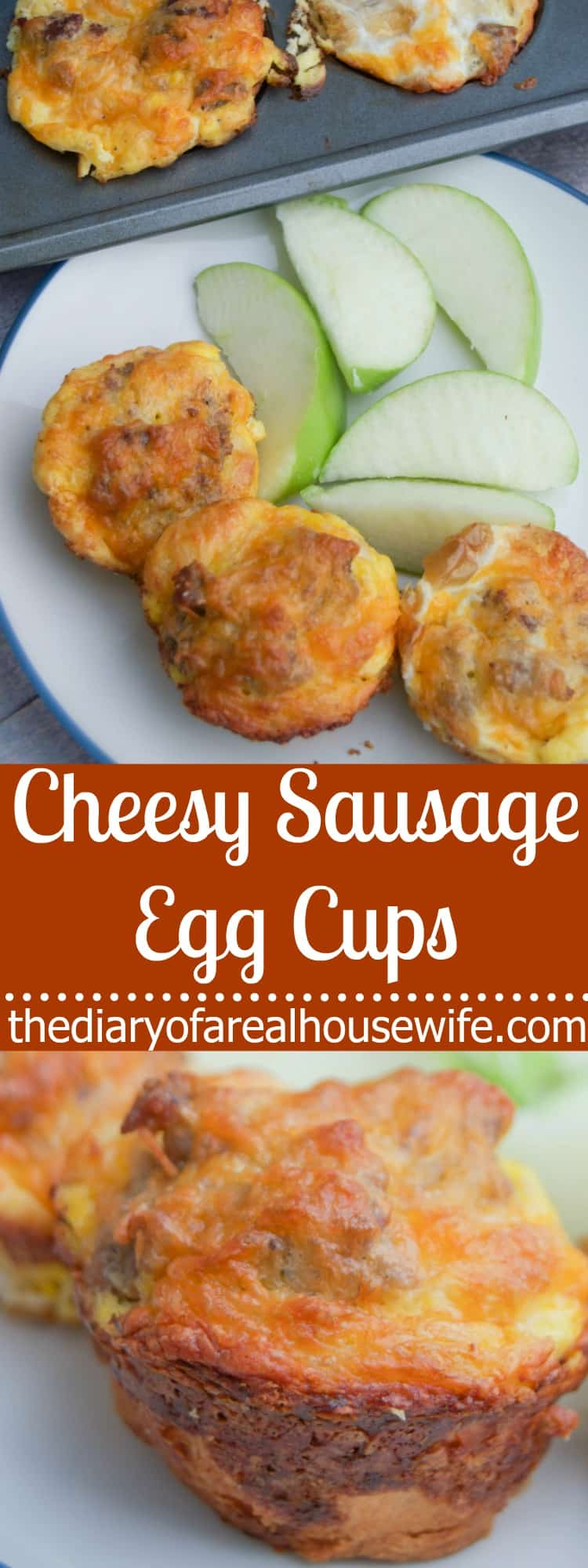 Cheesy Sausage Egg Cups