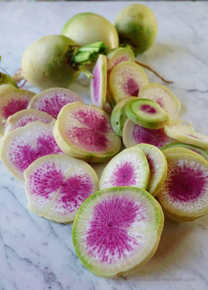 Sweet Hot Pickled Radishes
