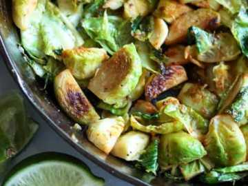 Paleo Sweet and Spicy Brussels Sprouts