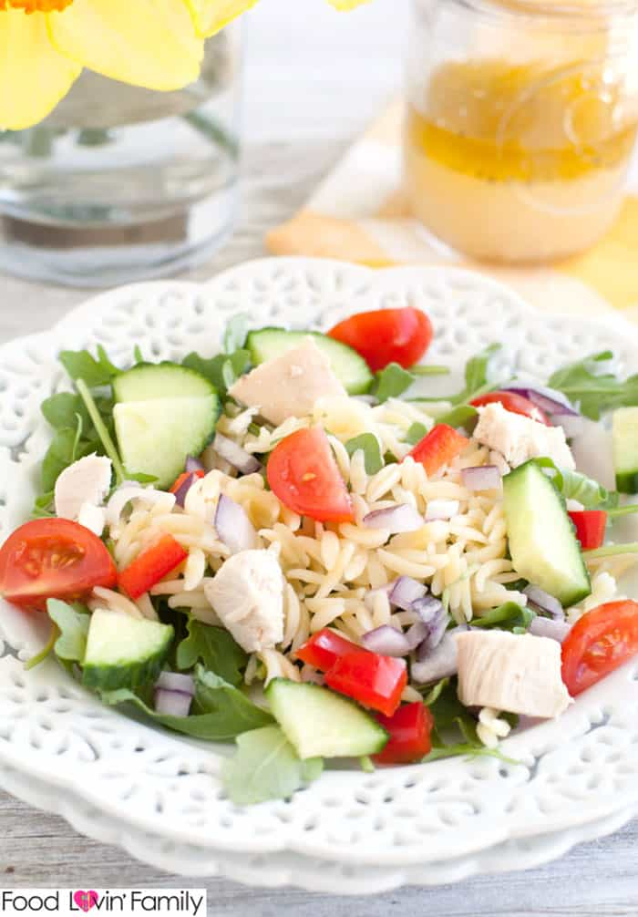 chicken orzo salad 2