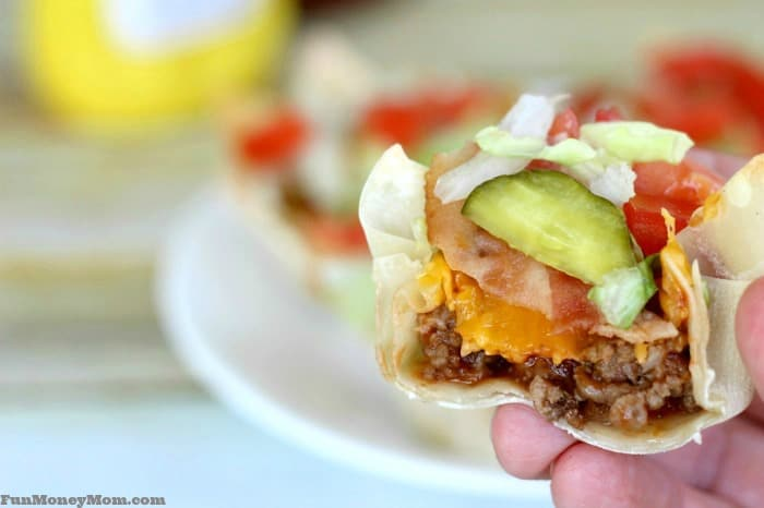Everyone will love these easy bacon cheeseburger cups!