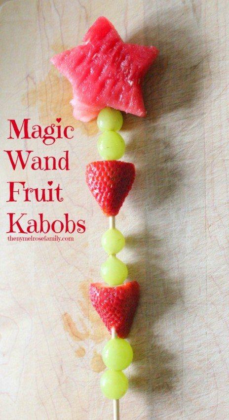Fresh & Fun Fruit Shapes with Magic Wand Fruit Kabobs