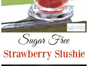 Sugar-Free Strawberry Slushie