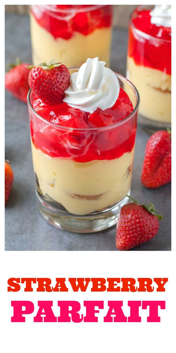 Fresh Strawberry Parfait