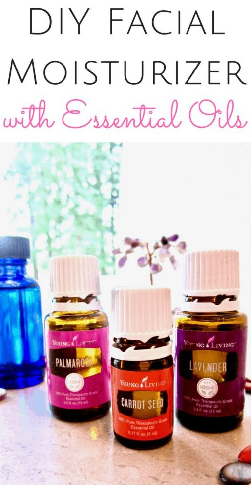 DIY Facial Moisturizer with Essential Oils