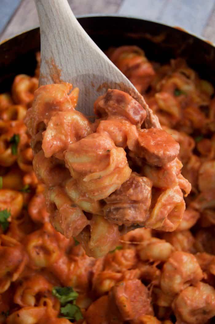 Tortellini and Sausage
