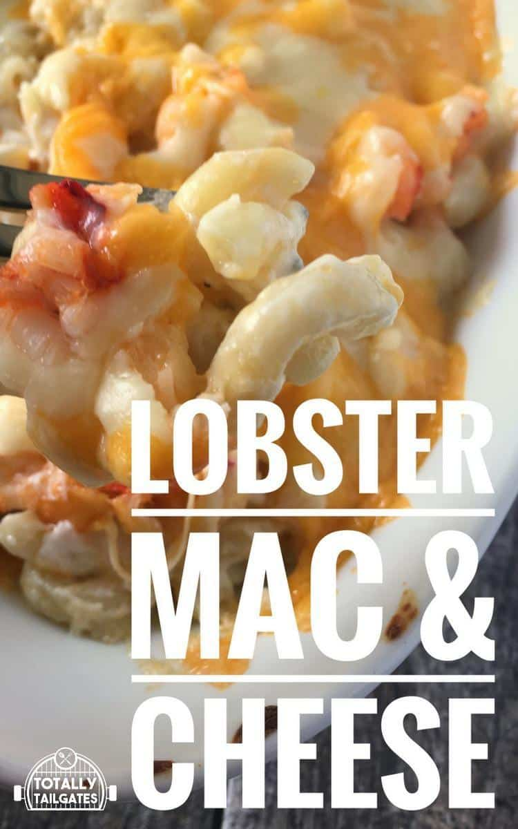 lobster mac and cheese casserole pin