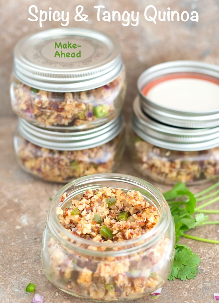 Spicy and Tangy quinoa