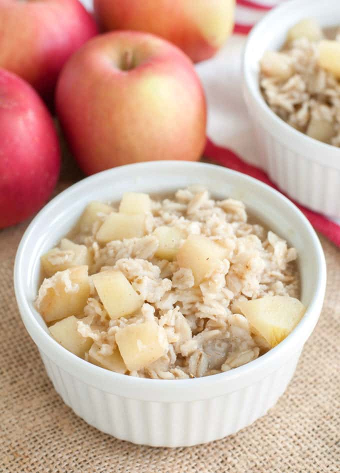Apple Cinnamon Oatmeal Recipe for Soothing Throats