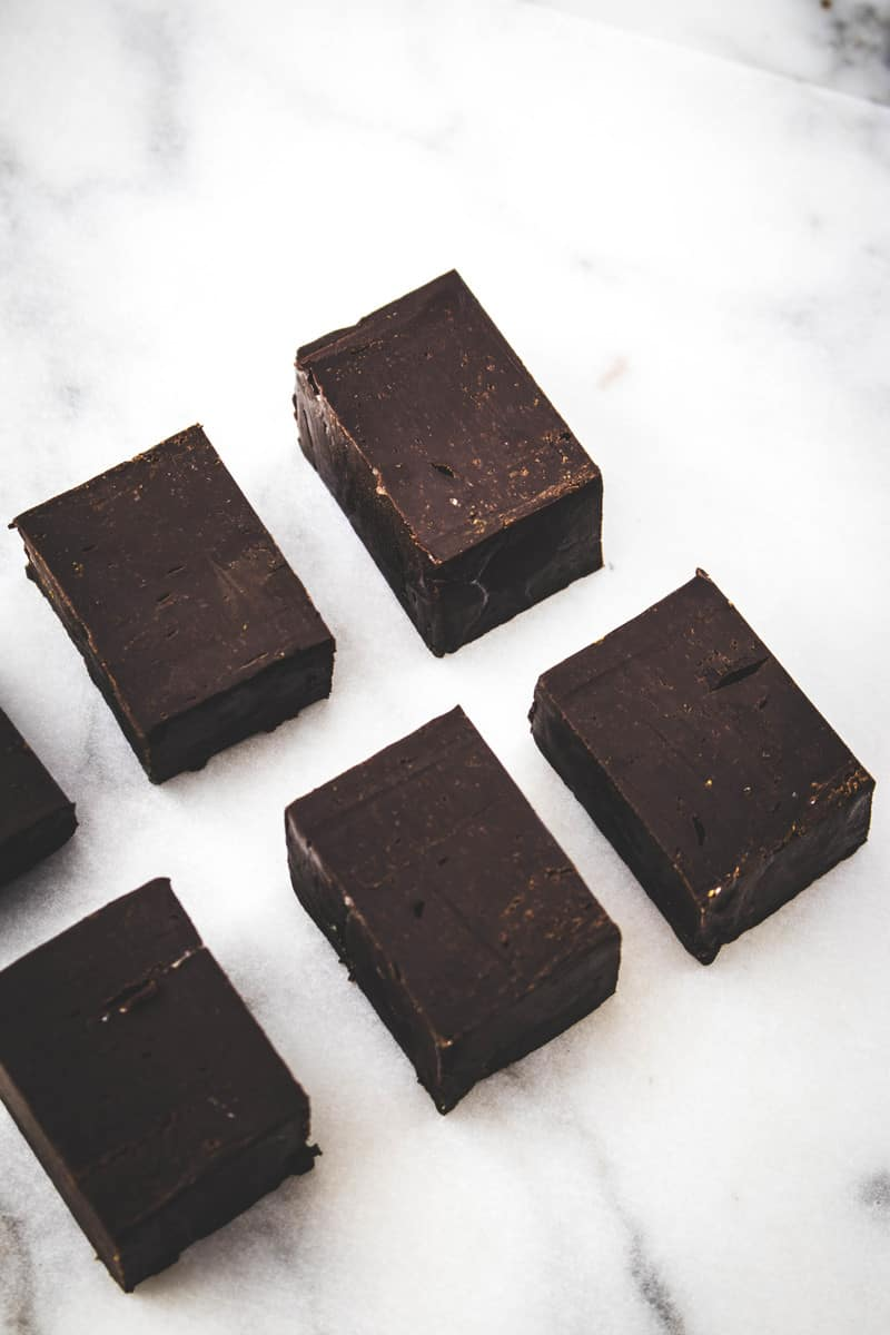 Easy orange chocolate fudge recipe