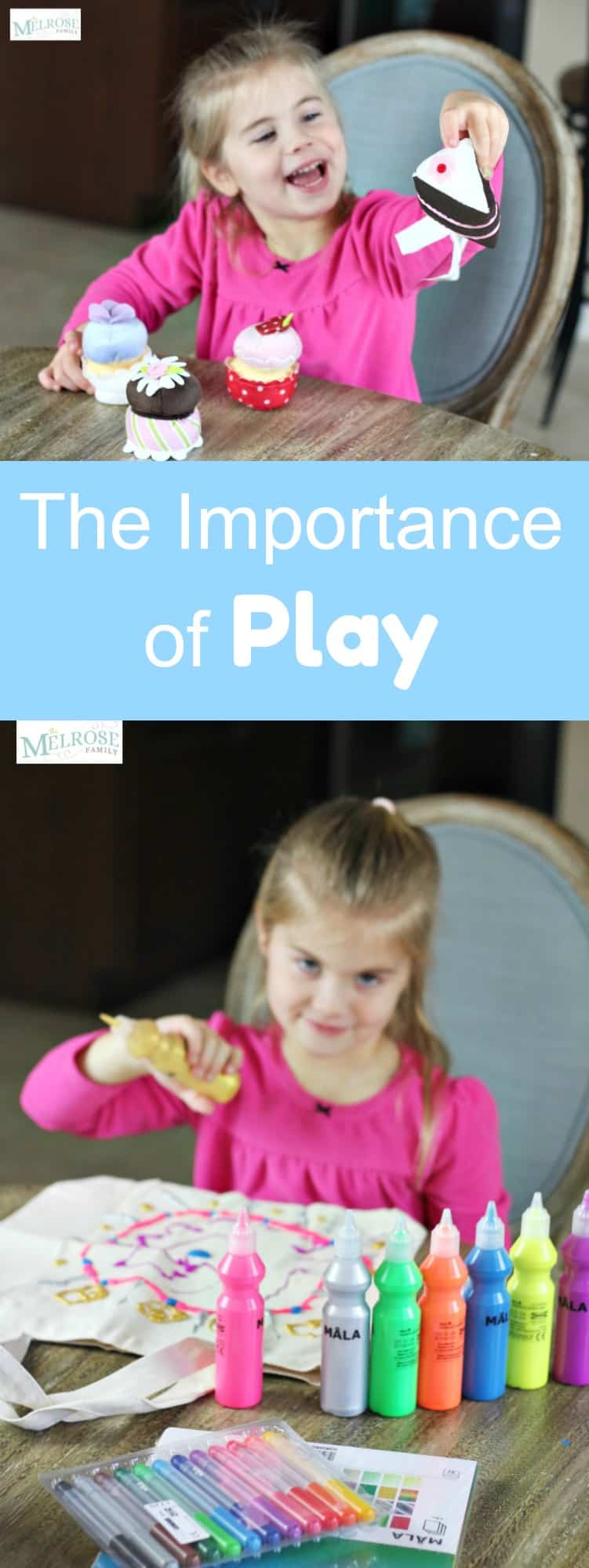 The Importance of Play: A Gift Guide with Play in Mind #play #giftguide #themelrosefamily #ad #toddleractivities