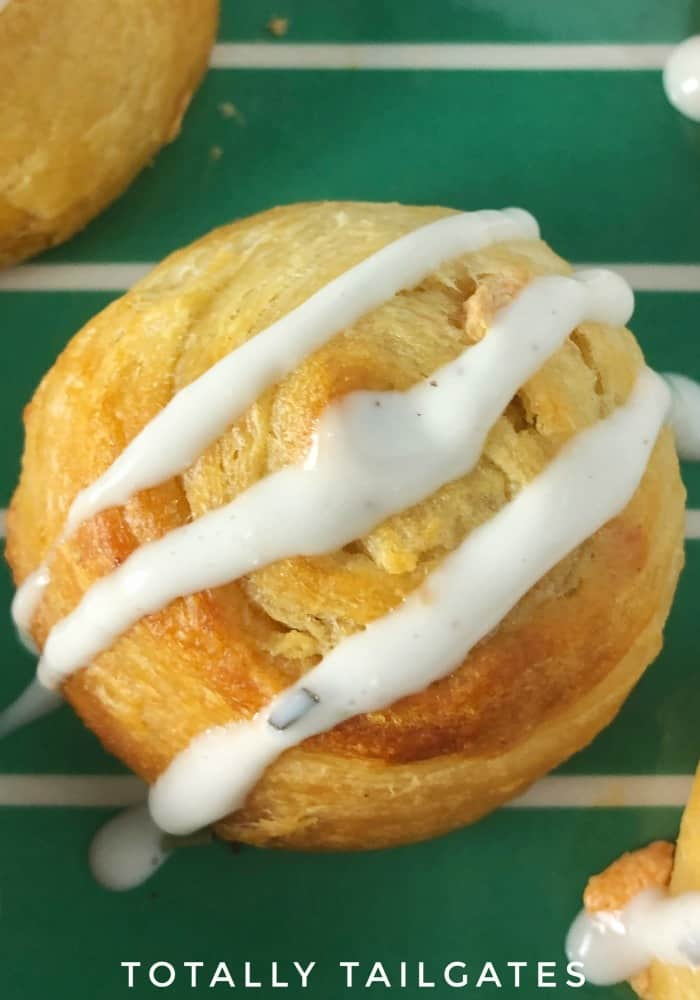 Buffalo Chicken Pinwheel Appetizer