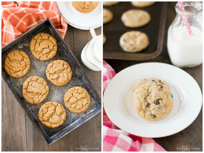 She Bakes Cookies peanut butter and chocolate chunk