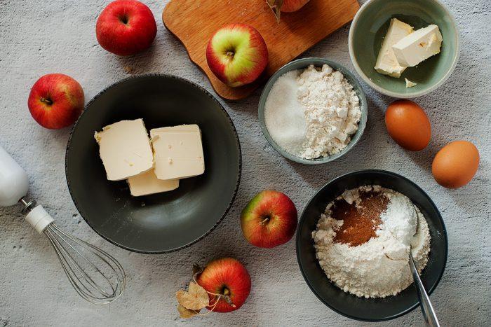 Apple Crumble Cake Ingredients