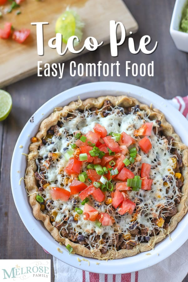 Taco Pie – Easy Comfort Food